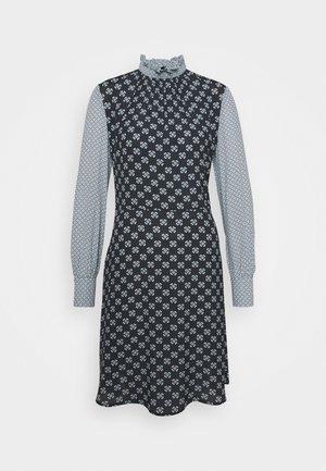 RAZOR - Denní šaty - black/white