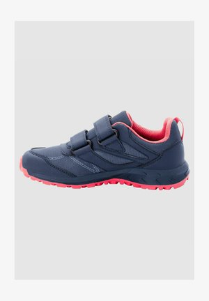 Walking shoes - dark blue / rose