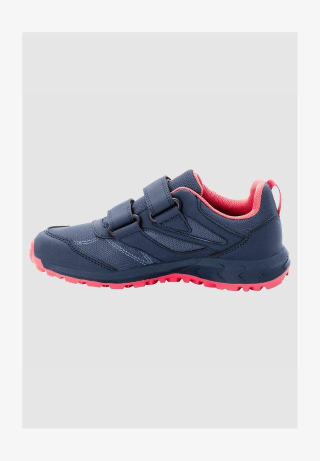 Walking shoes - dark blue / rose