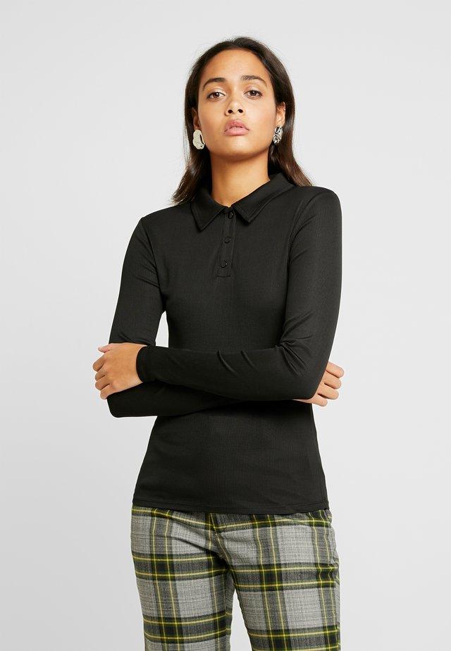 OBJARZANA  - Bluzka z długim rękawem - black