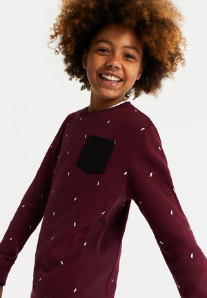MET DESSIN - Sweater - burgundy red