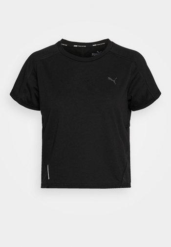 TRAIN PANEL TEE - Print T-shirt - black