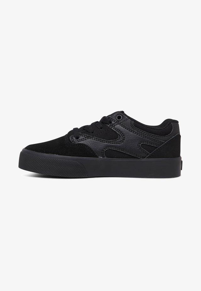 KALIS VULC - Sneakers laag - black/black