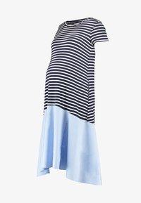 Attesa Maternity - RIGHE+COTONE - Sukienka z dżerseju - light blue - 5