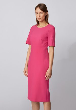 DALUNE - Shift dress - pink