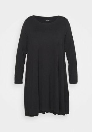 SWING DRESS - Trikoomekko - black