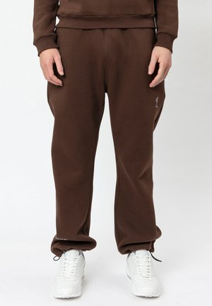 Tracksuit bottoms - chocolate