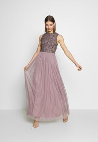 Lace & Beads - PICASSO MAXI - Occasion wear - purple - 1