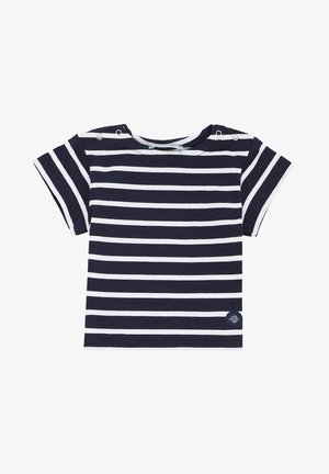 HOËDIC MARINIÈRE - T-shirt imprimé - navire/blanc