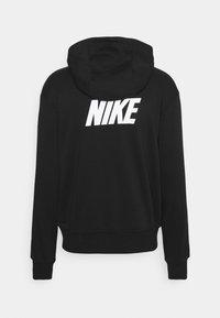 Nike Sportswear - REPEAT HOODIE - Sweatshirt - black/white - 7