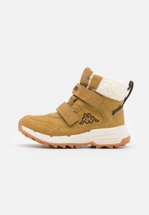 TAPIWA TEX UNISEX - Winter boots - beige/brown