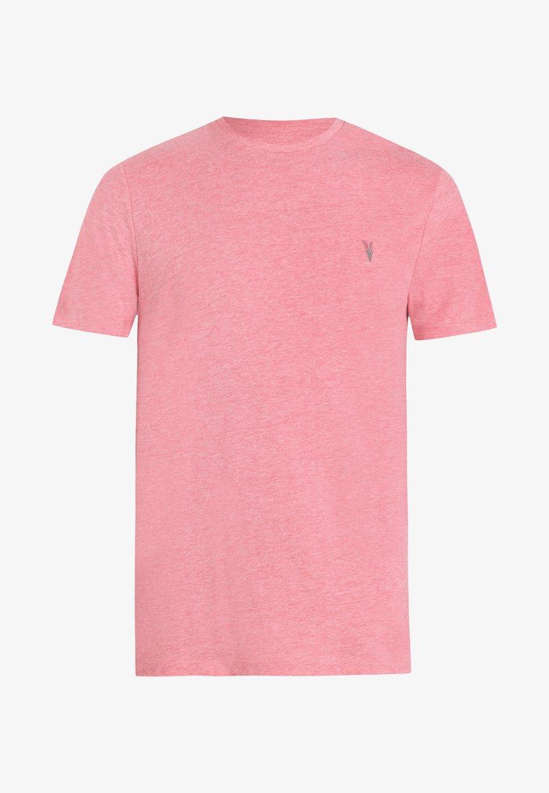 AllSaints - BRACE - Basic T-shirt - light pink