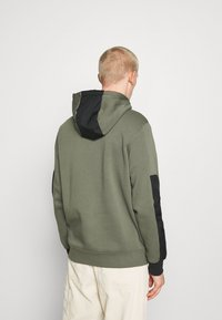 Nike Sportswear - AIR HOODIE - Mikina s kapucí - twilight marsh/black/white - 2