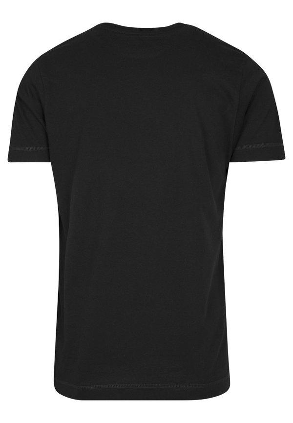 Mister Tee RAMMSTEIN IN KETTEN TEE - T-shirt z nadrukiem - black/czarny Odzież Męska FZBH