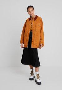 Monki - SARAH JACKET - Short coat - tobacco/dark brown - 1
