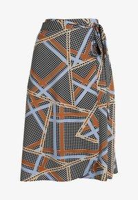 Soyaconcept - BIRNA - A-line skirt - faded blue combi - 3