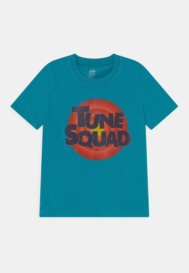 SPACE JAM TUNE SQUAD LOGO TEE UNISEX - Print T-shirt - teal