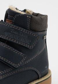 TOM TAILOR - UNISEX - Winter boots - navy - 5