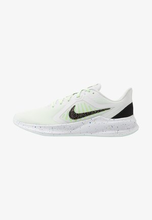 DOWNSHIFTER 10 SE - Neutral running shoes - summit white/black/ghost green/royal pulse/plum dust/white