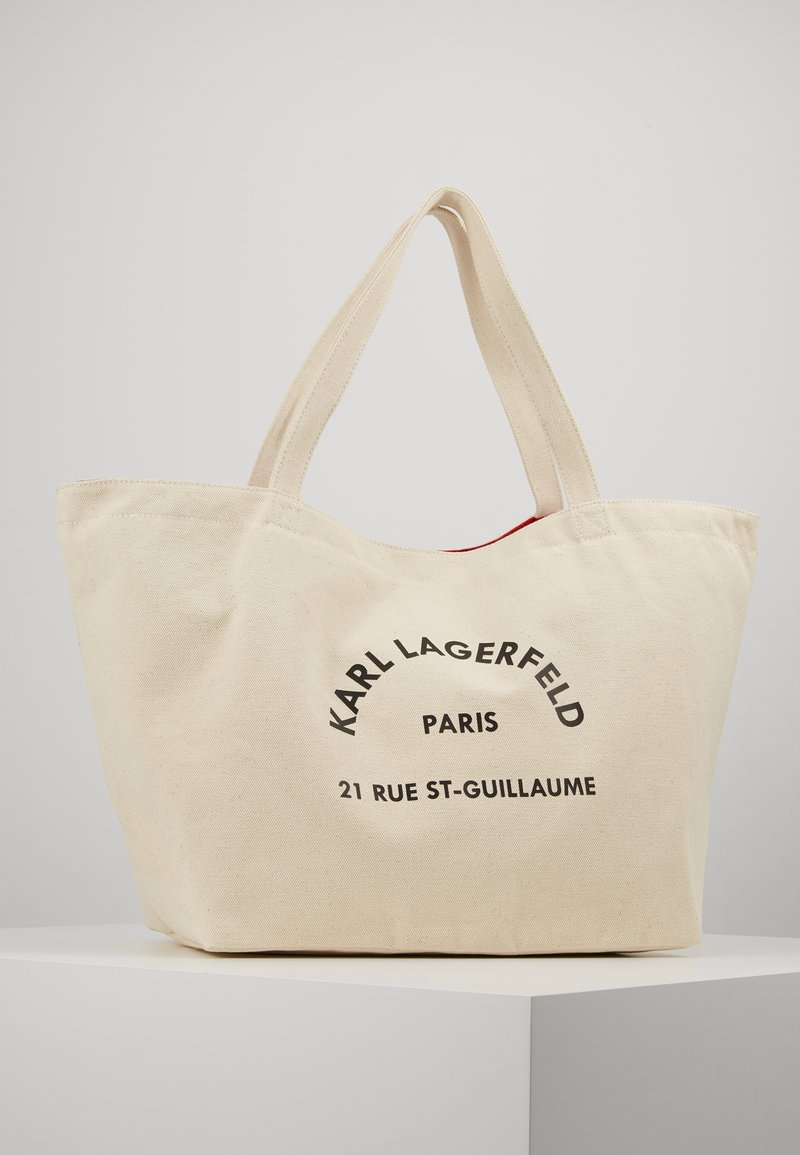 KARL LAGERFELD - RUE ST GUILLAUME TOTE - Tote bag - natural