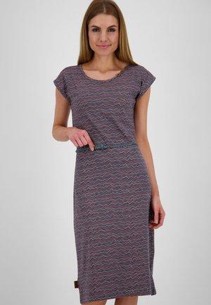 Jersey dress - marine