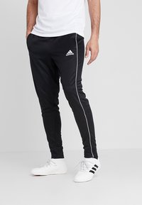 adidas Performance - CORE - Tracksuit bottoms - black/white - 0
