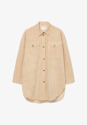 Short coat - vintage stone