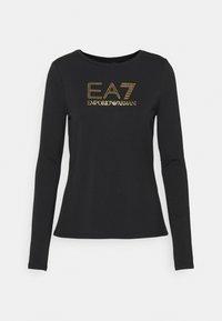 EA7 Emporio Armani - Long sleeved top - black - 4