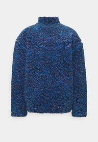 Weekday - IVAN PILE HALFZIP UNISEX - Winter jacket - bright blue - 1