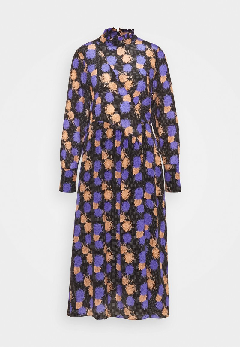 Hofmann Copenhagen - RIKA PRINT - Denní šaty - black