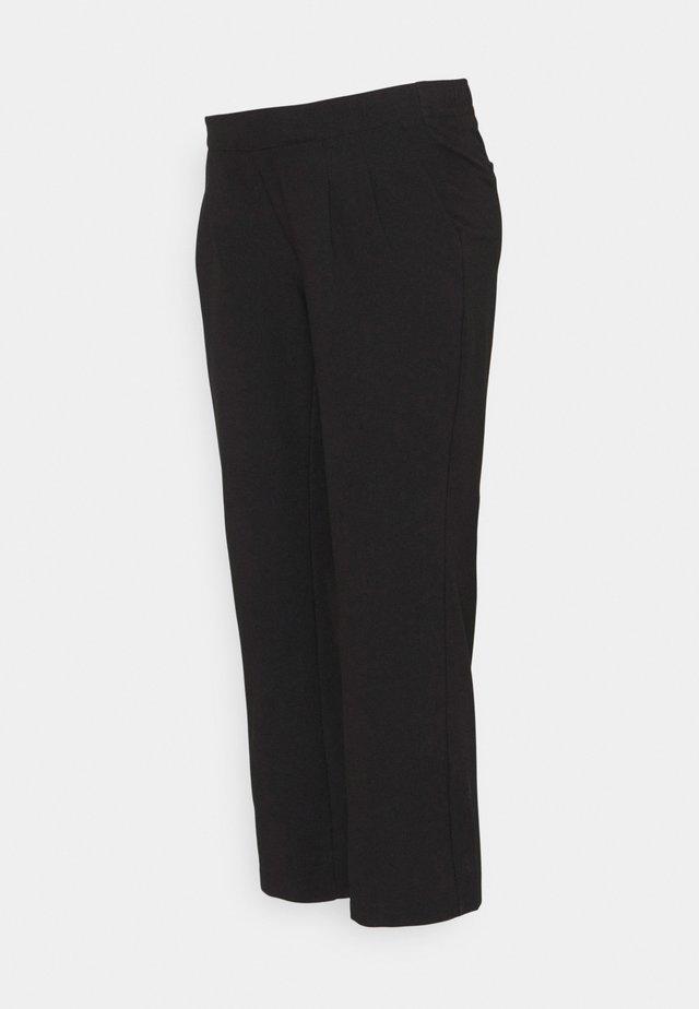 MLIDA BUSINESS 7/8 PANT - Pantaloni - black