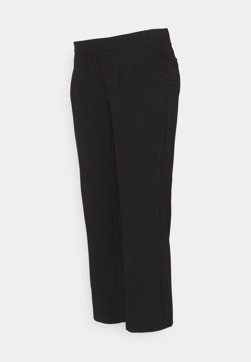 MAMALICIOUS - MLIDA BUSINESS 7/8 PANT - Spodnie materiałowe - black