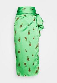 SUMMER RAINBOW  - Wrap skirt - green