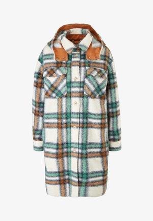 Classic coat - offwhite check