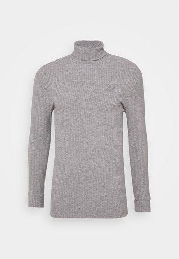 LONG SLEEVE BRUSHED TURTLE NECK - Maglione - light grey