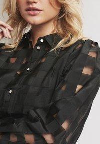 Karen by Simonsen - ELINA - Button-down blouse - meteorite - 3