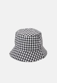 Pieces - PCLAYA BUCKET HAT - Hoed - bright white/black - 1