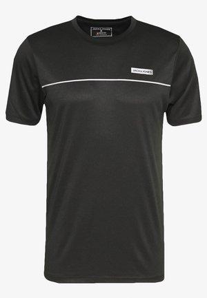 JCOZSS PERFORMANCE TEE - T-Shirt print - black