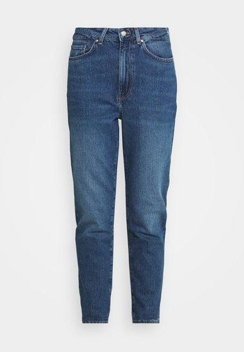 MOM FIT - Jeans Skinny Fit - blue denim