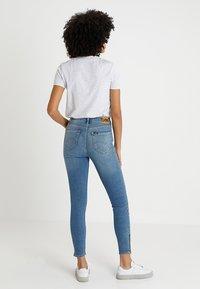 Lee - SCARLETT HIGH ZIP - Jeans Skinny Fit - blue aged - 2