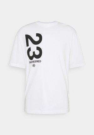 CREW - T-shirt imprimé - white