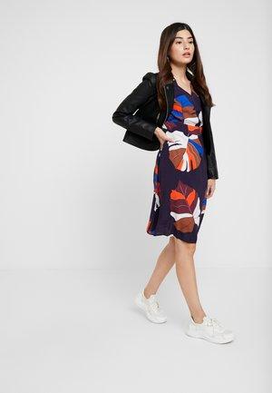 OBJJONNA 3/4 DRESS - Day dress - nightshade