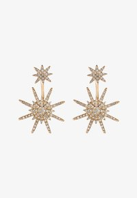 sweet deluxe - GALACTIC - Earrings - gold/crystal - 3