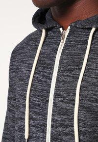 Blend - REGULAR FIT - Zip-up hoodie - charcoal - 3