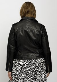 No.1 by Ox - Leather jacket - black - 2