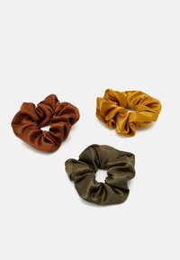Pieces - PCHOLLY SCRUNCHIE 3 PACK - Hair Styling Accessory - grape leaf - 0
