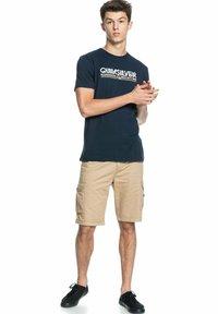 Quiksilver - LIKE GOLD - Print T-shirt - navy blazer - 1