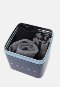 FALKE - HAPPY BOX 3 PACK - Socks - black - 1