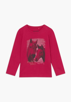 KIDS HORSE - Long sleeved top - magenta