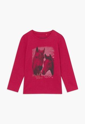 KIDS HORSE - Longsleeve - magenta